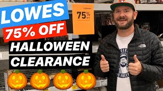🎃 LOWES 75% OFF HALLOWEEN CLEARANCE