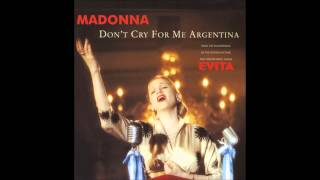 Madonna - Don't Cry For Me Argentina (Miami Spanglish Mix)
