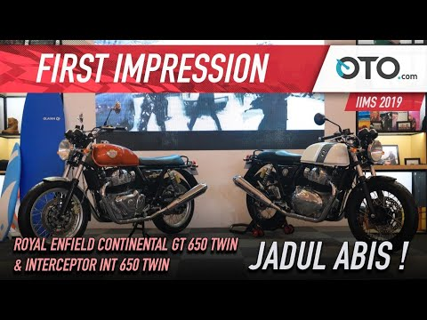 Royal Enfield Continental GT 650 Twin & Interceptor INT 650 Twin | First Impression | OTO.com