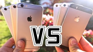 iPhone 6 VS iPhone 5S - Is It Worth The Upgrade?