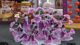 Beautiful Korean Fan Dance - Song of Platycodon 桔梗谣 - Colours of Dance Academy at Aberdeen Centre