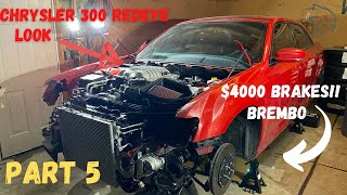 BUILDING THE WORLD'S FIRST CHRYSLER 300 REDEYE! PART 5 (ALMOST READY TO START UP!)