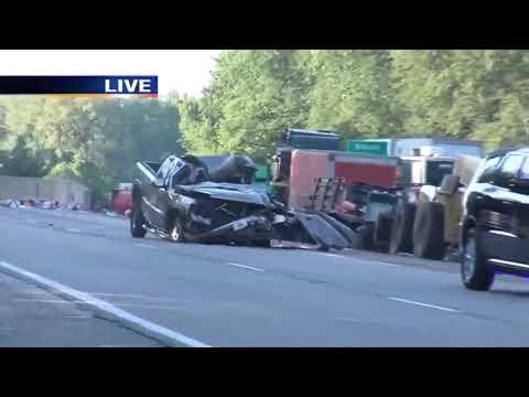 1 person injured in crash on Interstate 70