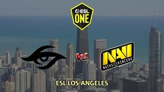 Team Secret vs NAVI - ESL One Los Angeles