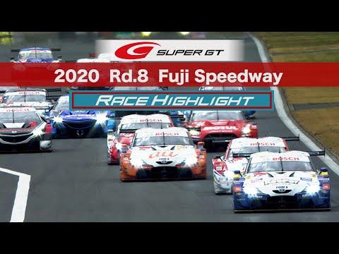 RAYBRIG NSX-GTが劇的勝利!スーパーGT 第8戦富士スピードウェイ 決勝レースのハイライト動画