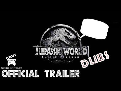 DINOS REACT to the Jurassic World Fallen Kingdom Trailer