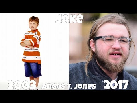 Two and a Half Men Then And Now