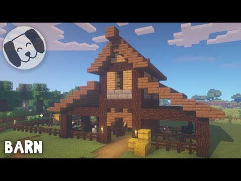 Very Easy Medieval Stable Tutorial Included Minecraft Project