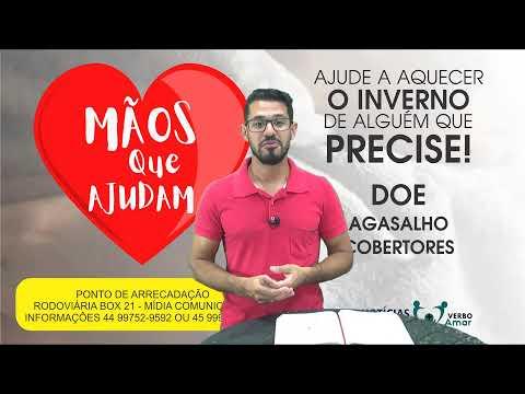 Programa Palavras de Vida com Pastor Cleiton Martins - 11/05/21