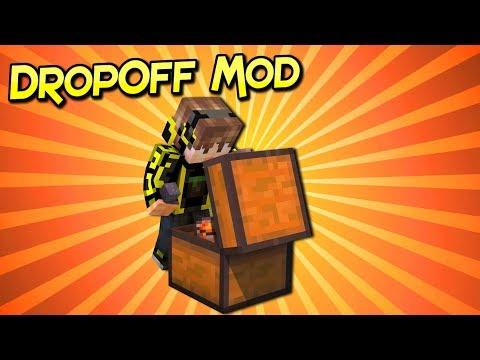 DropOff Mod | Organiza Tus Cofres Fácilmente | Minecraft 1.12.2 – 1.7.10 | Review Español