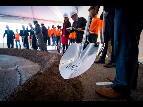 David A. Tepper Quadrangle Groundbreaking Event