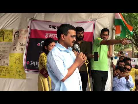 Delhi CM Arvind Kejriwal Meets DCW Chairperson Swati Maliwal on her 8th day of hunger strike