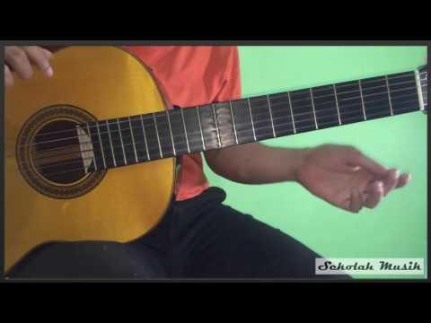 Belajar Lagu Tinggal Kenangan Fingerstyle Gitar - Gaby