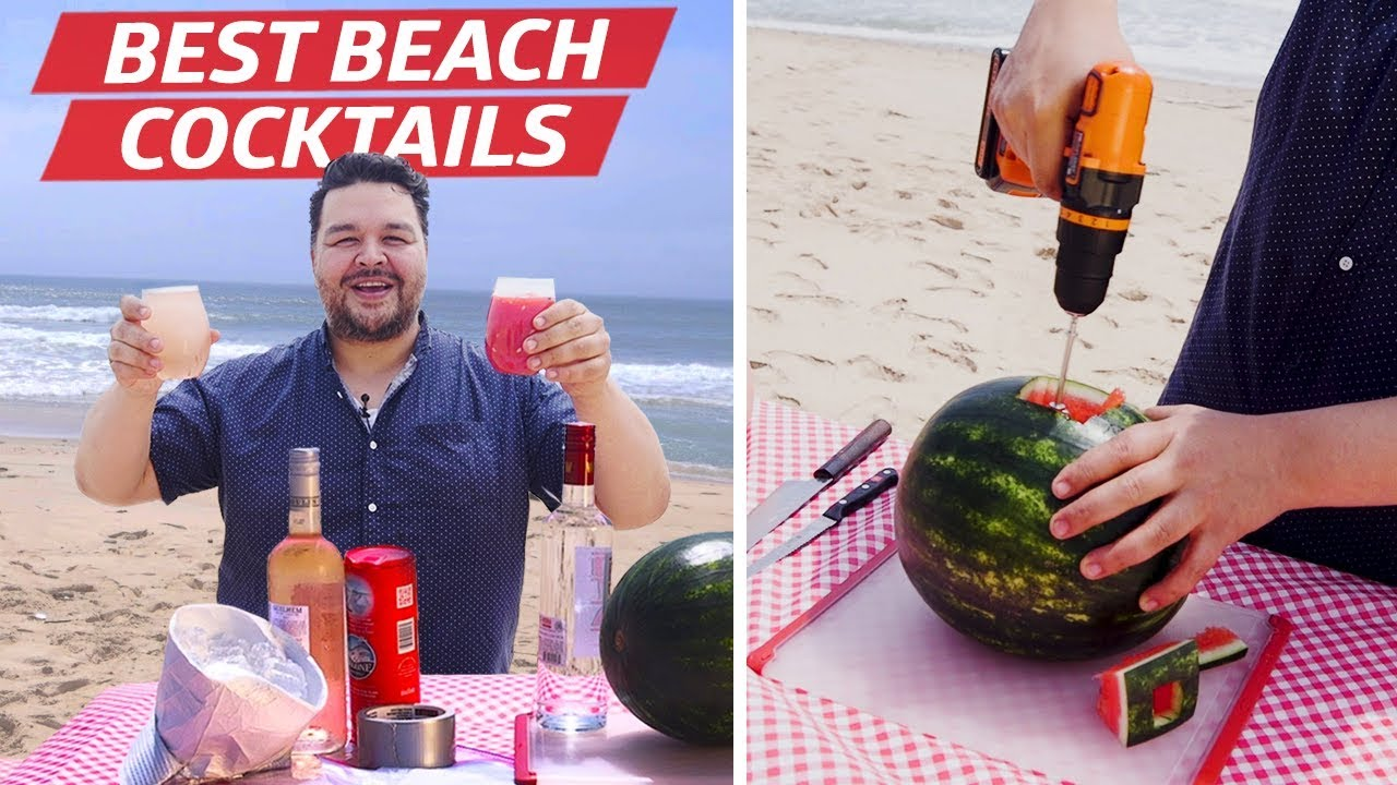 How to Make Frosé and Watermelon Slush with Just a Bag and a Screwdriver —You Can Do This! thumbnail