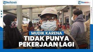 Kisah Penumpang KA yang Mudik karena Tidak Punya Pekerjaan Lagi di Jakarta