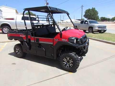 2020 Kawasaki PRO-FX EPS LE in Wichita Falls, Texas - Video 1