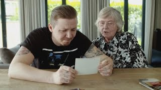 Professor Green talks to Nanny Pat about his Dad - Professor Green: Suicide and Me - BBC Three