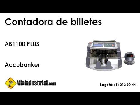 Contadora de billetes AB1100 PLUS