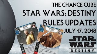 The Chance Cube - Interim Rules Updates (July 17, 2018)