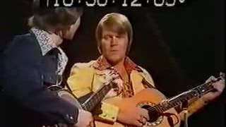 Glen Campbell & <b>Carl Jackson</b> Live  Dueling Banjos 1973