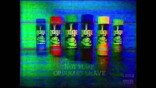 Edge Shaving Cream | Television Commercial | 1987 | OTA