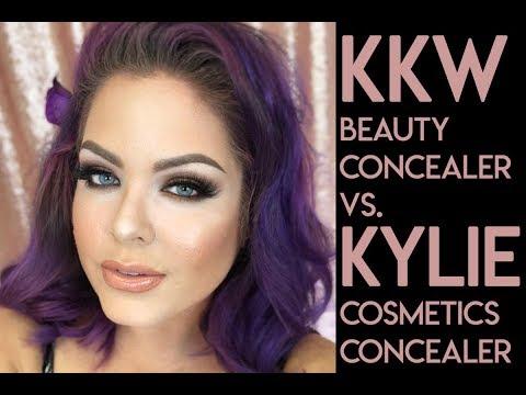 KKW Beauty Concealer vs. Kylie Cosmetics Skin Concealer