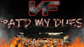 MetalHead REACTION to NF (PAID MY DUES)