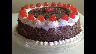 Online Baking Class Episode 3 -1kg Black Forest Cake Tutorial For Beginners (malayalam)