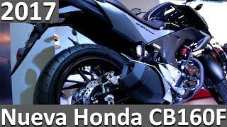 Honda CB 160F 2017 al 2018 Ficha Técnica y Caracteristicas - nuevas motos 2017 colombia