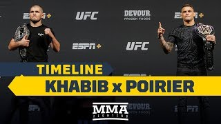 UFC 242 Timeline: Khabib Nurmagomedov vs. Dustin Poirier - MMA Fighting