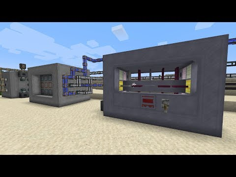 NuclearCraft Tutorial - Reactor Design {2/2} [1 12 2] - смотреть