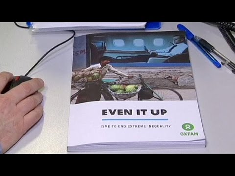Oxfam: «Όλο και πλουσιότερο γίνεται το 1%»