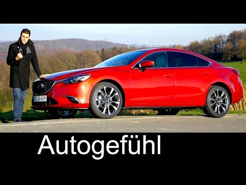 New Mazda6 Facelift FULL REVIEW test driven neu 2016 Limousine Sedan 2.5 l petrol Atenza