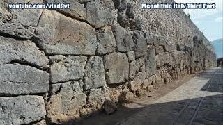 Megalityczne Włochy Trzecia część-nagranie w j.rosyjskim