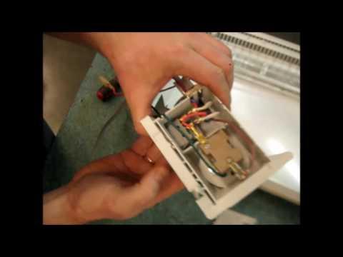 Ремонт конвектора. Запах горелого, дым , не включается,- разборка и диагностика