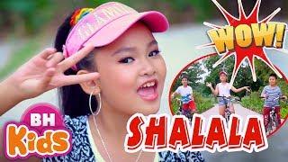 """SHALALA - """"Bùng nổ"""" cùng Châu Kỳ Anh ♫ Nhạc Thiếu Nhi Sôi Động - Kids Song"""