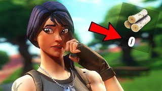*IMPOSSIBLE* WINNING w/ NO MATERIALS!! (Fortnite Battle Royale)