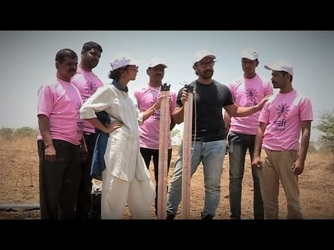 Indian Youth Uses Jugaad for Drought Eradication (Marathi)