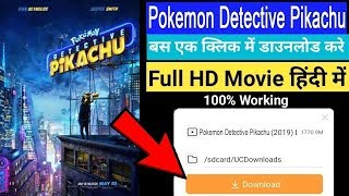 How to download pokemon detective pikachu full movie in hindi