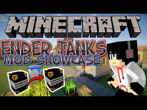Minecraft - Ender Tanks 1.12.2 Mod Showcase | BeastWolf