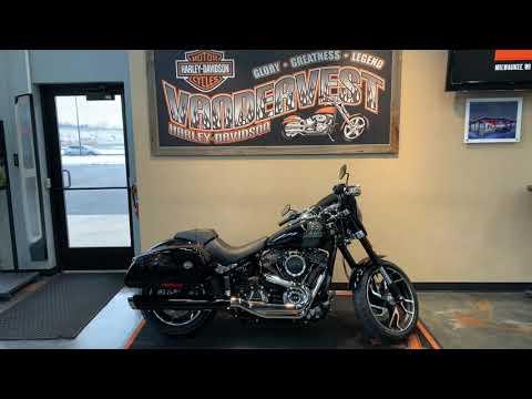 2021 Harley-Davidson FLSB at Vandervest Harley-Davidson, Green Bay, WI 54303