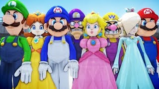 ALL SUPER MARIO CHARACTERS IN GRAND THEFT AUTO (PART 2)