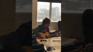 Ryan Adams: Instagram Live   Solo Acoustic Song, Capitol Records Office 17.1.19