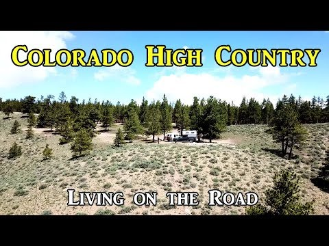 Colorado High Country - Living on the Road
