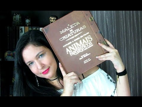 A Maleta de Criaturas - Animais fantásticos e onde habitam