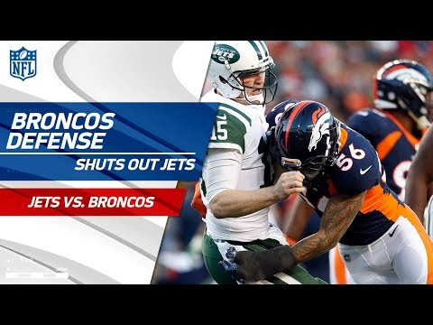 Denver's Defense Gets the Shutout vs. NY! | Jets vs. Broncos | Wk 14 Player Highlights