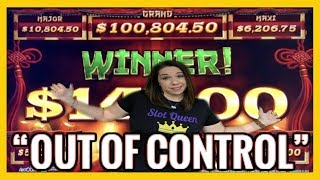 ❌ Slot Queen sneaks into HIGH LIMIT ‼️ 🤭 BIG WINS and BIG ANXIETY 🙈
