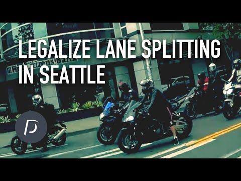 Legalize Lane Splitting in Seattle WA | Motovlog EP.8