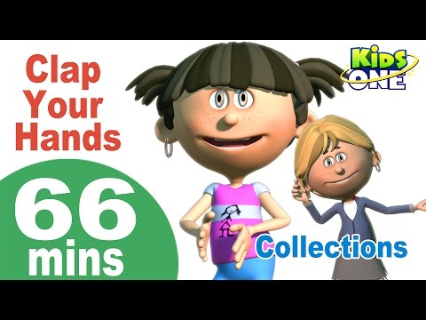 Top English Nursery Rhymes | Clap Your Hands & More Nursery Rhymes | 66 Minutes Compilation