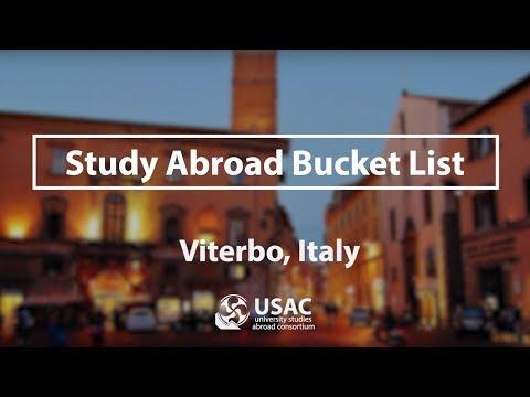Viterbo Bucket List